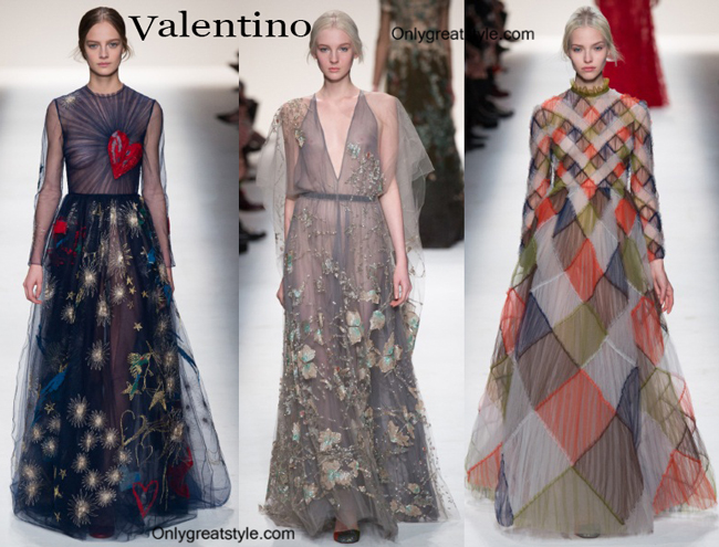 Valentino fashion clothing fall winter