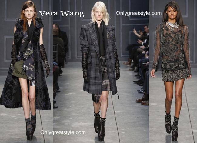 Vera Wang clothing accessories fall winter