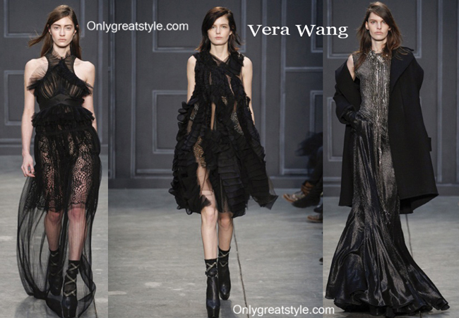 Vera Wang fashion clothing fall winter