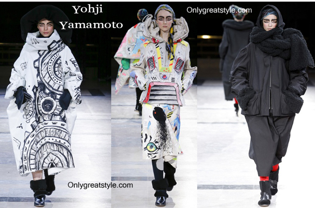 Yohji Yamamoto clothing accessories fall winter