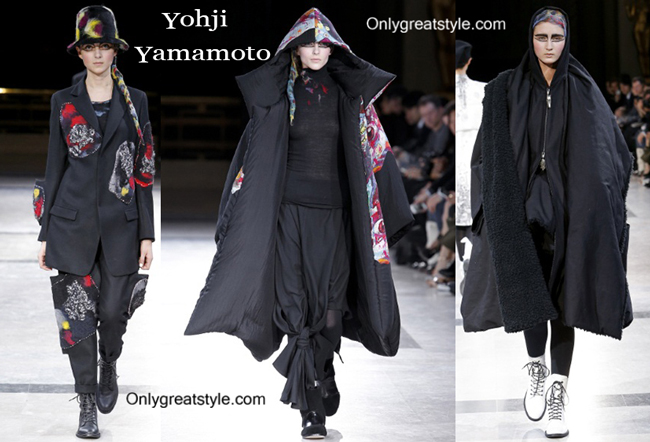 Yohji Yamamoto fashion clothing fall winter