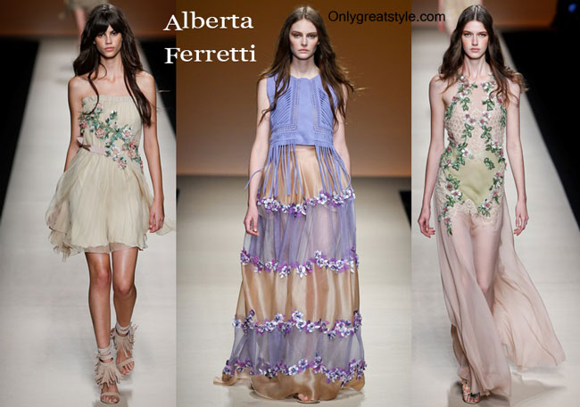 Alberta Ferretti fashion clothing spring summer 2015i