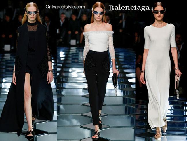 Balenciaga clothing accessories spring summer 2015