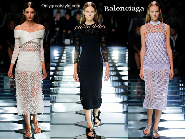 Balenciaga fashion clothing spring summer 2015