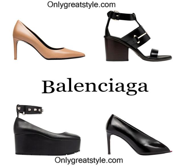 Balenciaga footwear spring summer womenswear