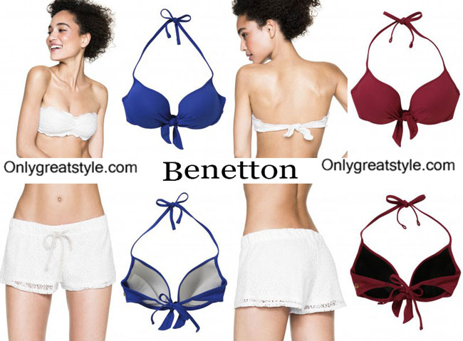 Swimwear Benetton summer 2015 beachwear womens