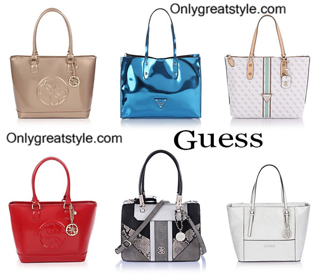 Guess bags spring summer 2015 womenswear handbags