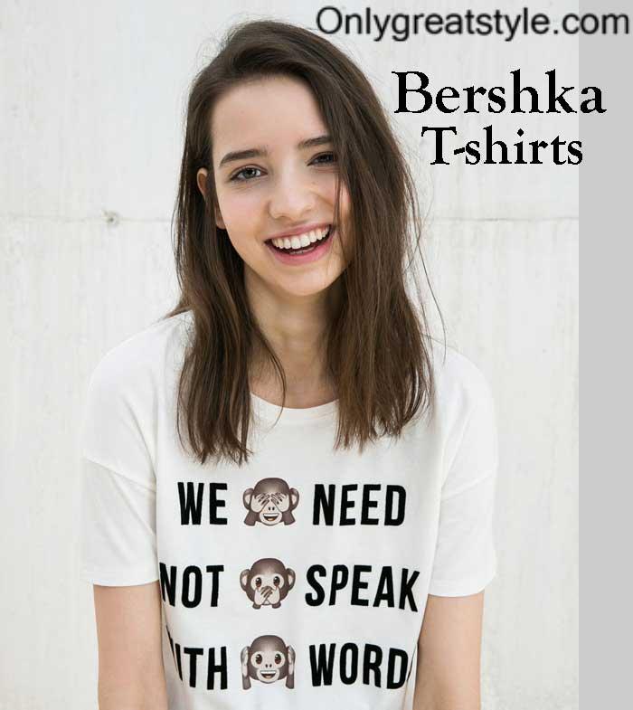 Bershka-t-shirts-fall-winter-for-women-and-girls