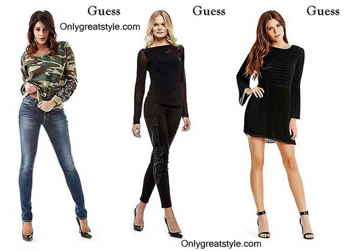 Guess-for-sales-clothing-fall-winter-for-women