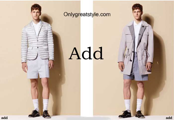 Brand Add style spring summer 2016 for men