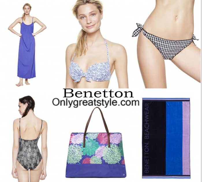 Benetton swimwear spring summer 2016 beachwear