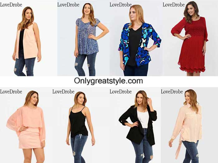 LoveDrobe plus size spring summer 2016 for women