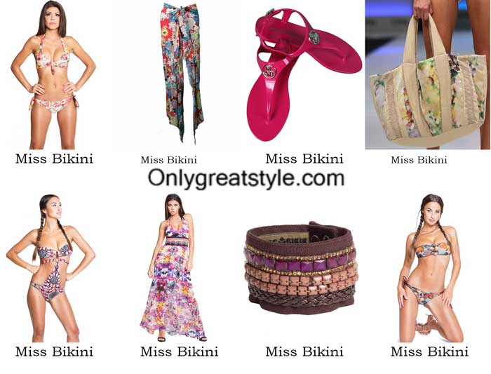 Miss Bikini swimwear spring summer 2016 beachwear