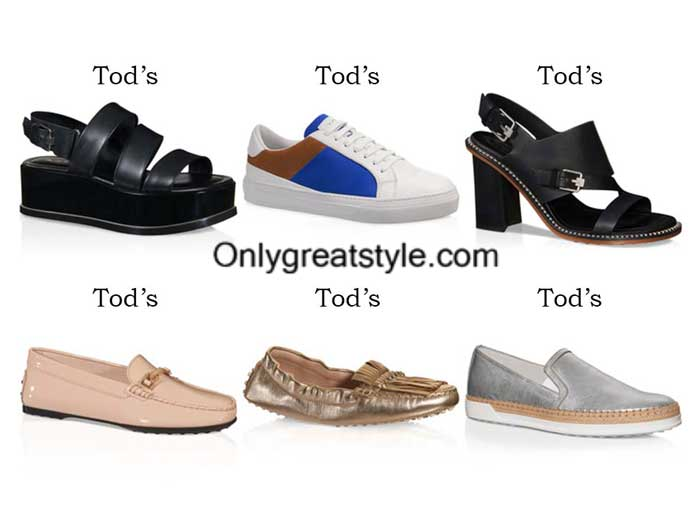 Tod's shoes spring summer 2016 footwear women
