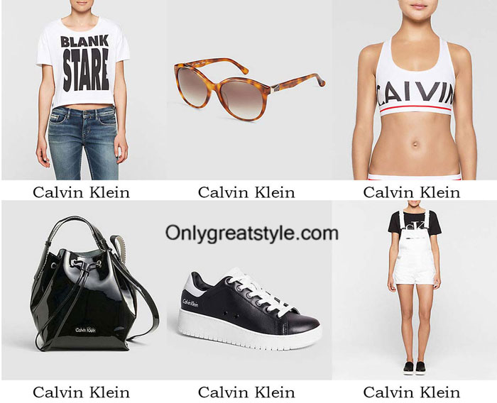 Calvin Klein fashion clothing spring summer 2016 women