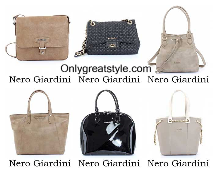 Nero Giardini bags spring summer 2016 for women