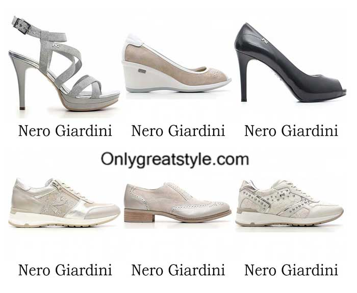 Nero Giardini shoes spring summer 2016 for women