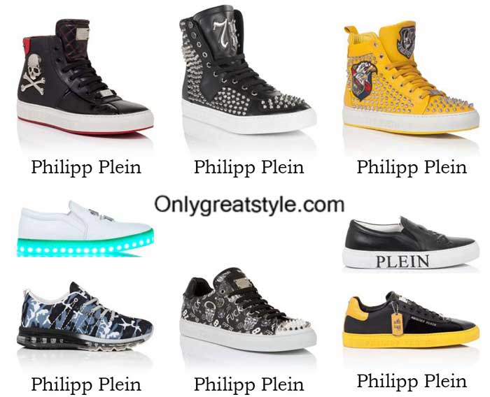 Philipp Plein sneakers spring summer 2016 shoes for men