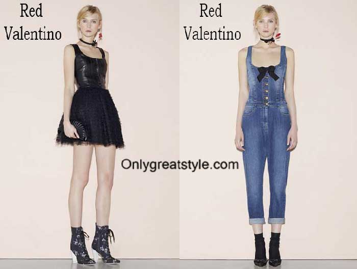 Red Valentino fashion clothing spring summer 2016 for women