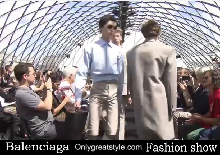 Balenciaga fashion show spring summer 2017 for men