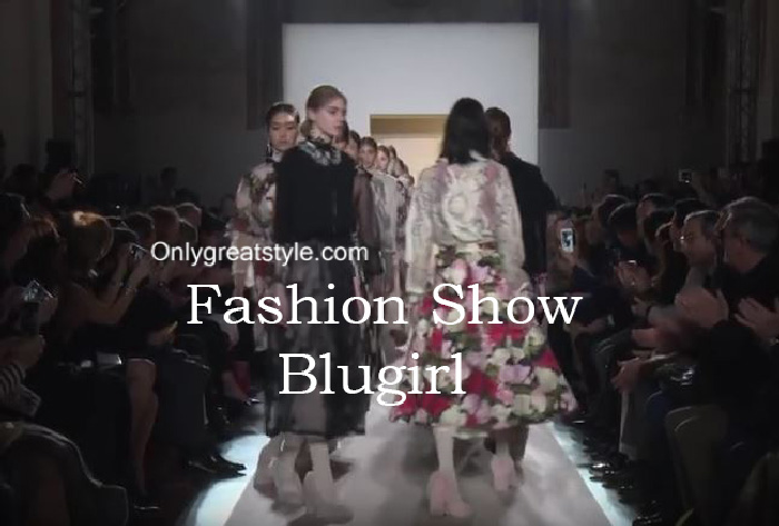 Blugirl fashion show fall winter 2016 2017 for women