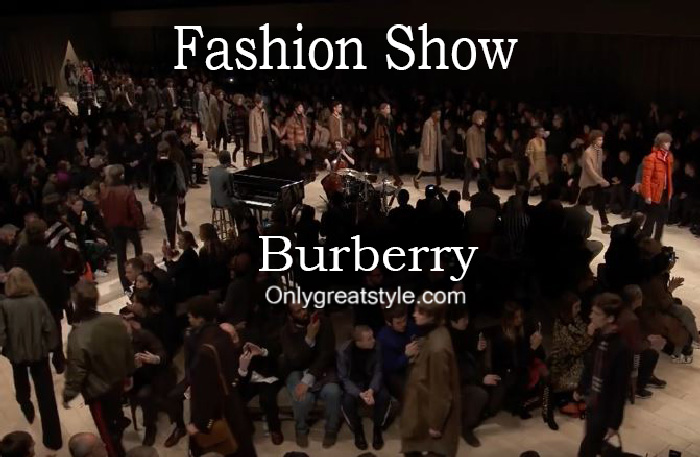 Burberry fashion show fall winter 2016 2017 for men