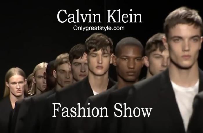 Calvin Klein fashion show fall winter 2016 2017 for men
