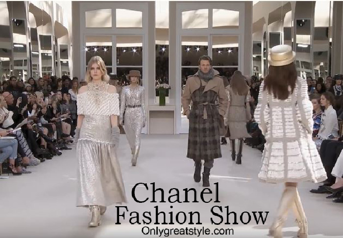 Chanel fashion show fall winter 2016 2017 for women