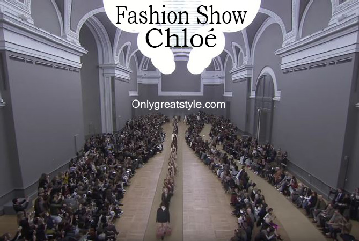 Chloé fashion show fall winter 2016 2017 for women