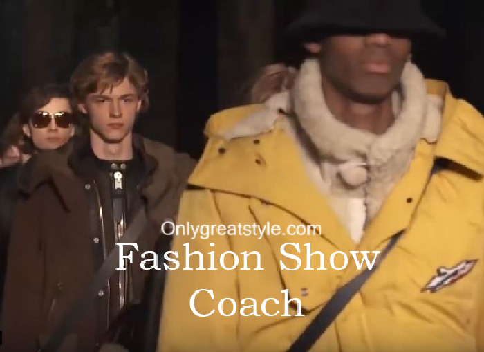 Coach fashion show fall winter 2016 2017 for men
