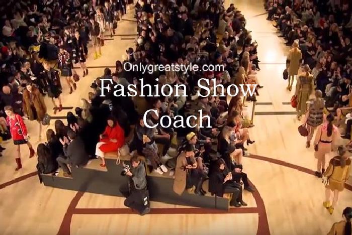 Coach fashion show fall winter 2016 2017 for women