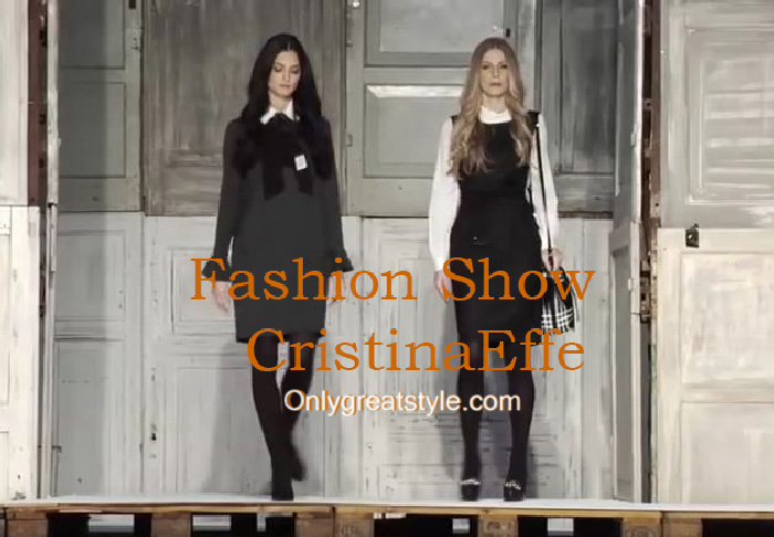 CristinaEffe fashion show fall winter 2016 2017 for women