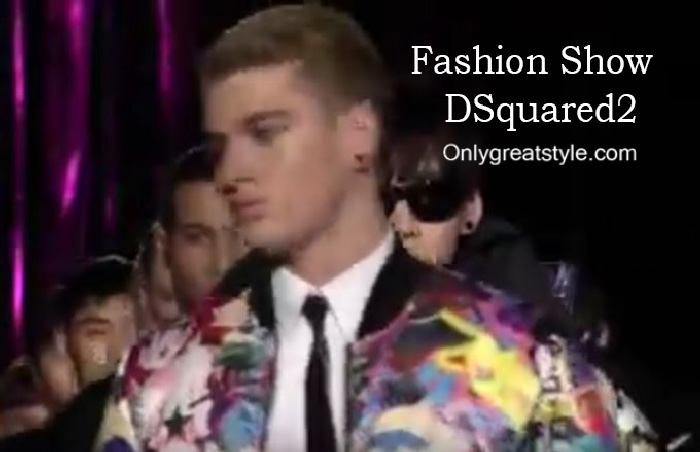 DSquared2 fashion show fall winter 2016 2017 for men