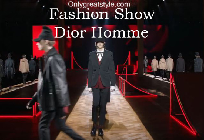 Dior Homme fashion show fall winter 2016 2017 for men
