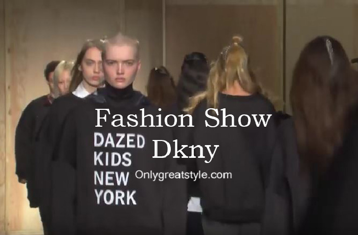 Dkny fashion show fall winter 2016 2017 for women