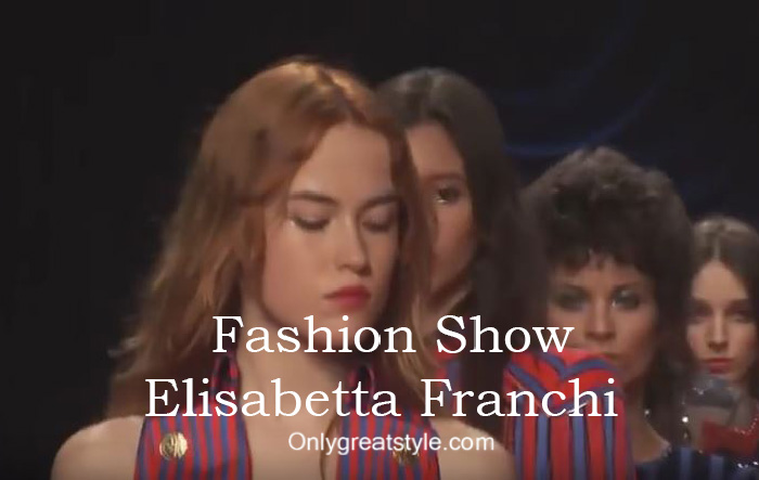 Elisabetta Franchi fashion show fall winter 2016 2017 for women