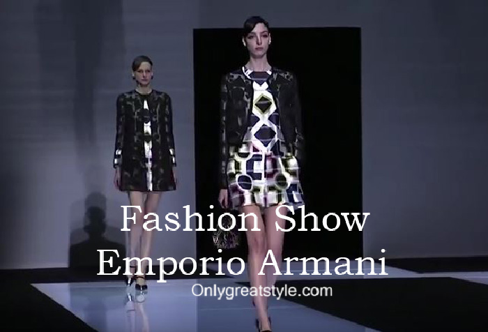 Emporio Armani fashion show fall winter 2016 2017 for women