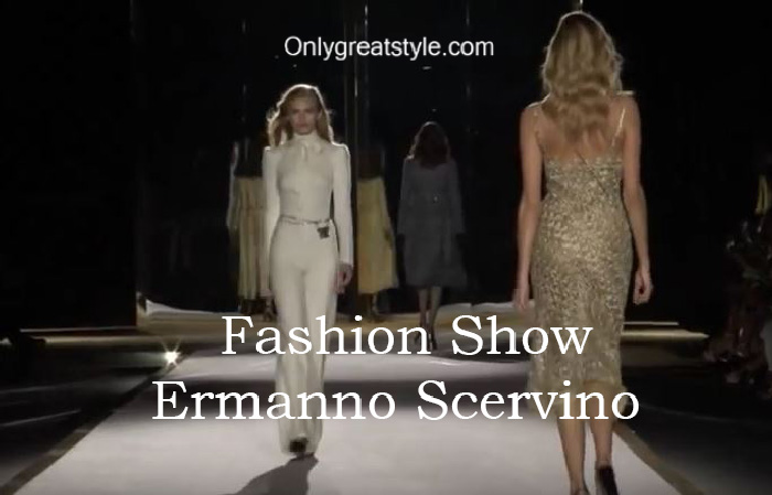 Ermanno Scervino fashion show fall winter 2016 2017 for women