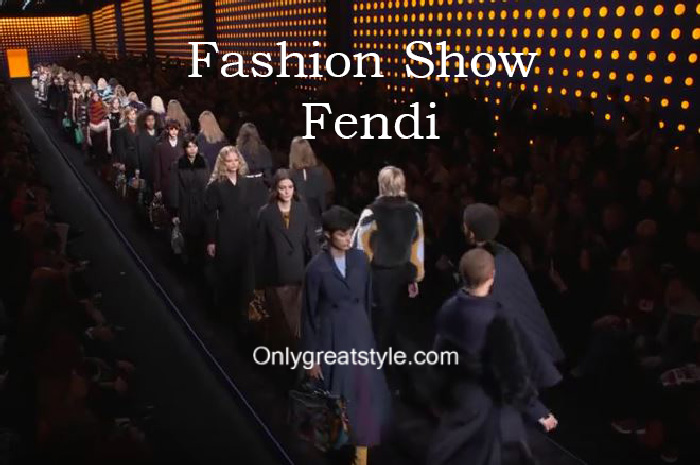Fendi fashion show fall winter 2016 2017 for women