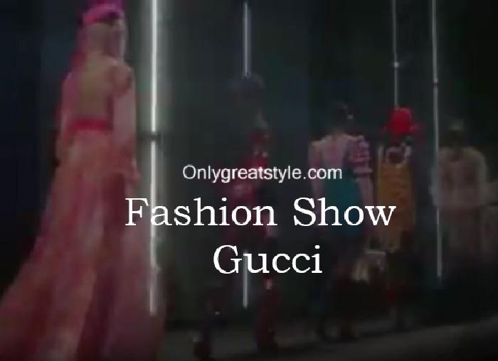 Gucci fashion show fall winter 2016 2017 for women