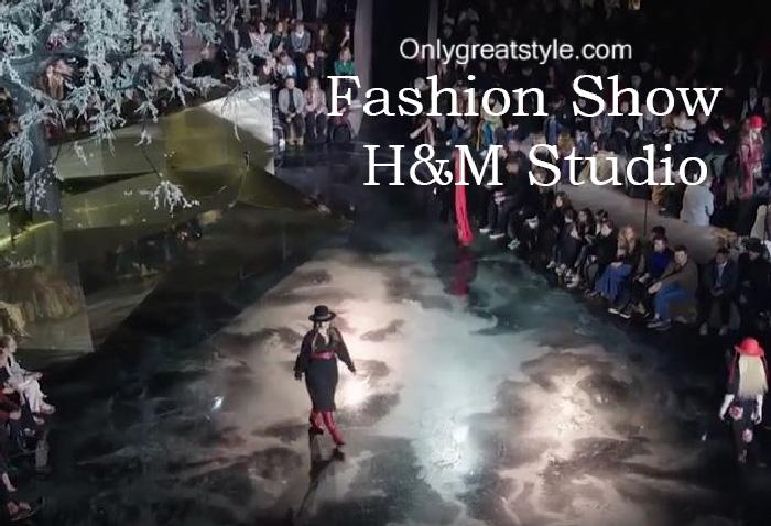 HM Studio fashion show fall winter 2016 2017 for women