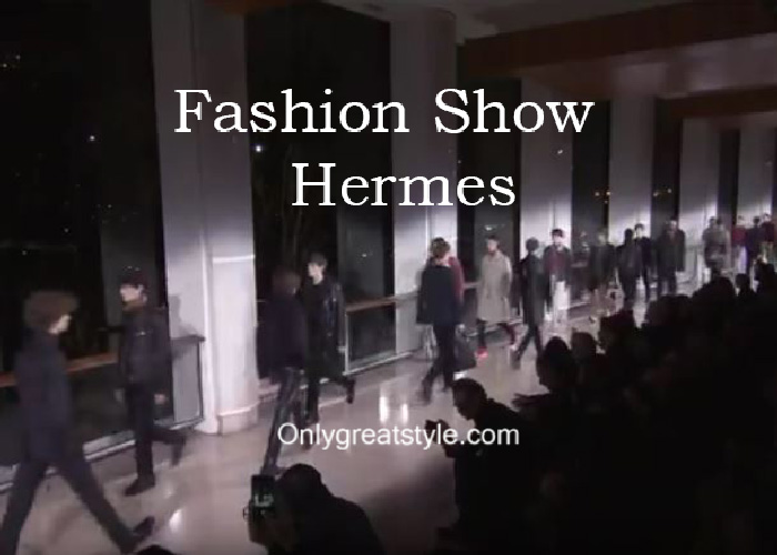 Hermes fashion show fall winter 2016 2017 for men