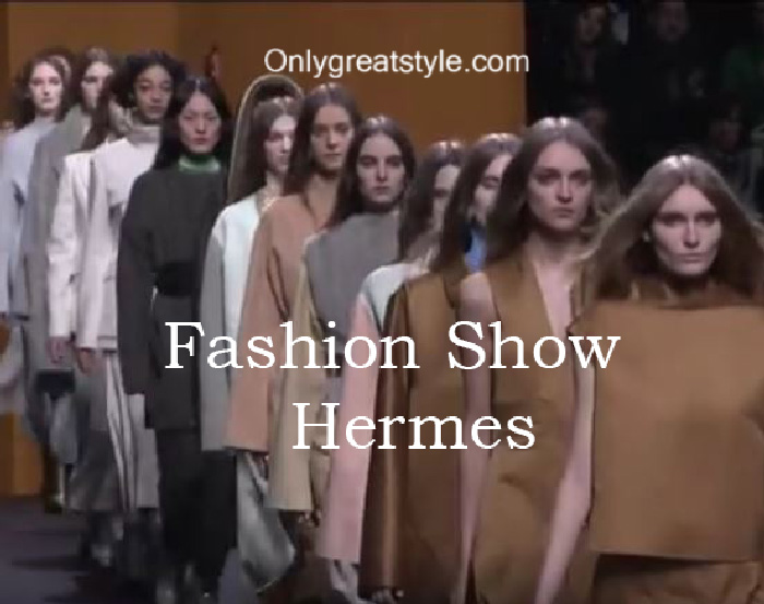 Hermes fashion show fall winter 2016 2017 for women