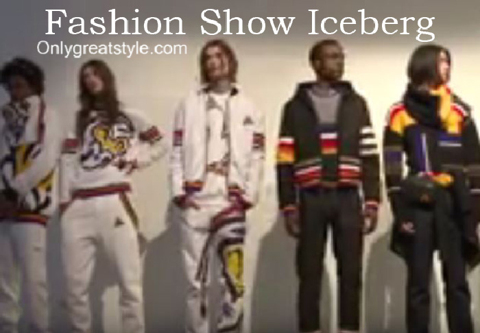 Iceberg fashion show fall winter 2016 2017 for men