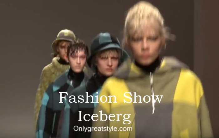 Iceberg fashion show fall winter 2016 2017 for women