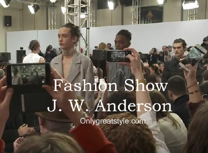 J. W. Anderson fashion show fall winter 2016 2017 for men