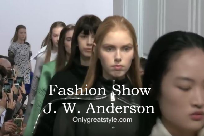 J. W. Anderson fashion show fall winter 2016 2017 for women