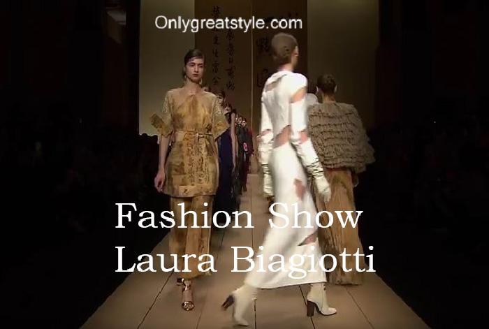 Laura Biagiotti fashion show fall winter 2016 2017 for women