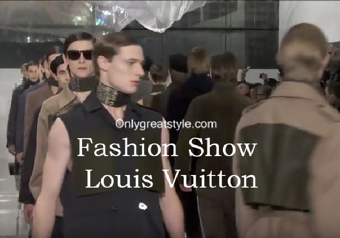 Louis Vuitton fashion show fall winter 2016 2017 for men