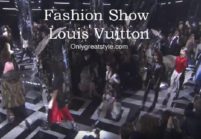 Louis Vuitton fashion show fall winter 2016 2017 for women